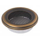 Grila gold patina rotunda 160 mm